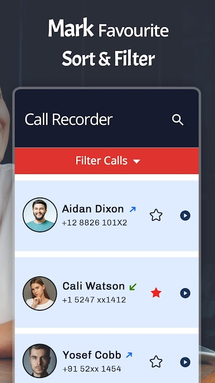 Automatic Call Recorder Latest (ACR)  poster 4