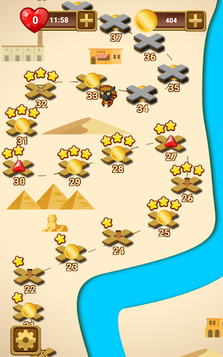 lost jewels of egypt match 3 screenshot 3