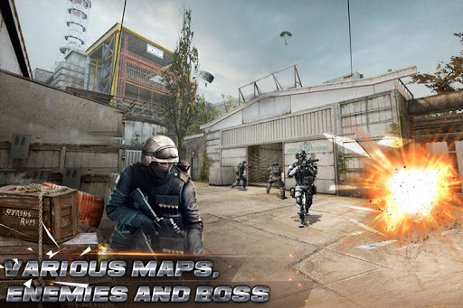 Critical strike - FPS shooting game 2.0.6 screenshots 2