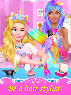 Girl Games: Hair Salon Makeup Dress Up Stylist