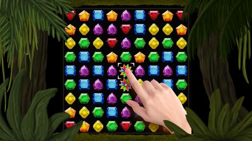 Secret Jungle Pop : Match 3 Jewels Puzzle 1.5.3 screenshots 2