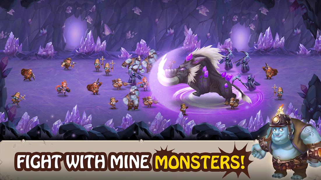 Mine Legend 2 - Idle Miner RPG screenshot 1