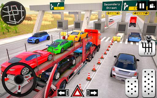 Car Transporter Truck Simulator-Carrier Truck Game 1.7.5 screenshots 4