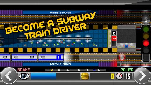 Subway Simulator 2D - city metro train driving sim apkpoly screenshots 1