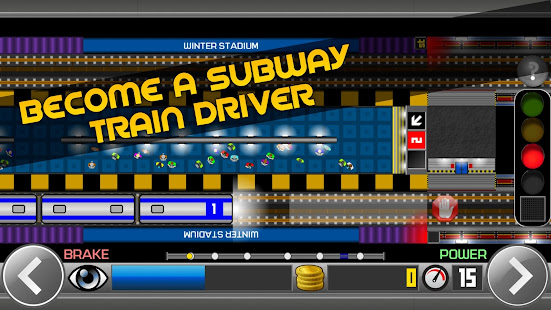 Subway Simulator 2D - city metro train driving sim 1.97 screenshots 1