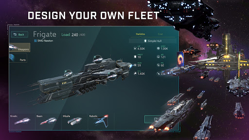 Stellaris: Galaxy Command, Sci-Fi, space strategy 0.2.3 screenshots 2