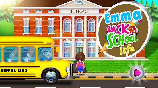 Emma Back To School Life: Classroom Play Games screenshots 9