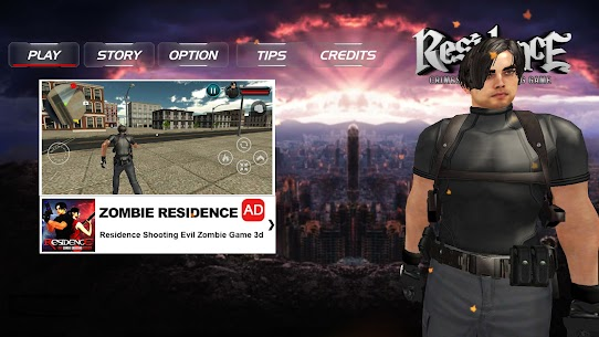 Residence Crime City Shooting Game Hack Game Android & iOS 1
