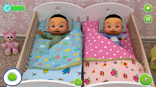 Twin Newborn Baby Care - Babysitter Daycare Game  Pc-softi 9