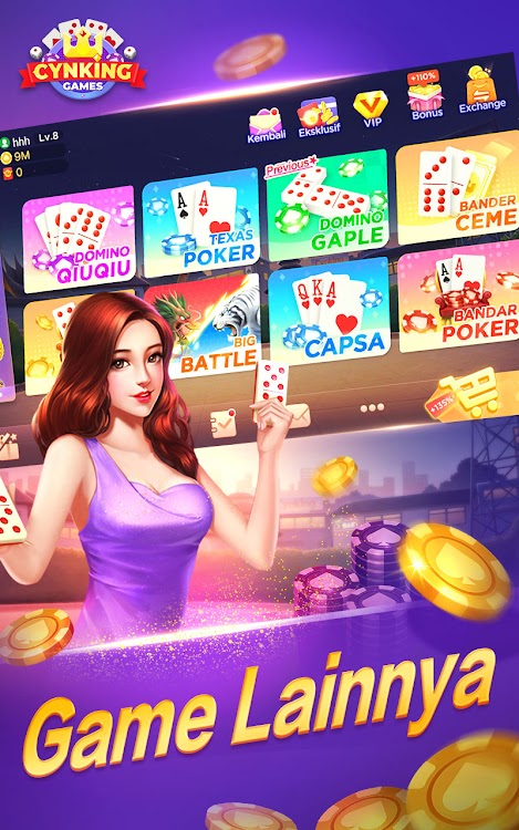 Gaple Domino Qiuqiu Poker Capsa Ceme Game Online Android Jogos Appagg