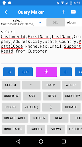 SQLite Editor Master 3.05 screenshots 5