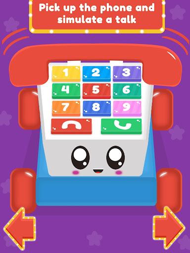 Baby Carphone Toy. Kids game apkslow screenshots 17