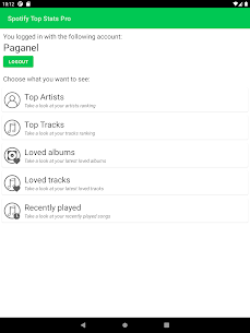 Spotify Top Stats Pro Apk 1.4 (Full Paid) 8