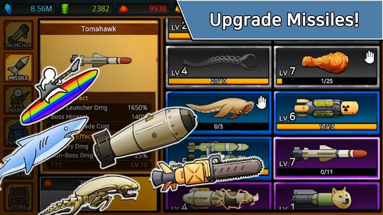 Missile Dude RPG: Offline tap tap hero Unlimited Money