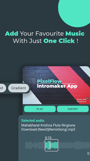 PixelFlow - Intro maker and Animation Creator  Screenshots 7