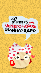 Stickers para Whatsapp - Arepa y Mantequilla Screenshot