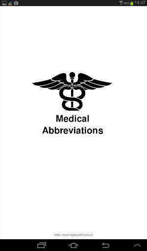 Medical Abbreviations 1.2.4 Screenshots 7