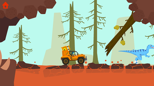 Dinosaur Guard - Jurassic! Driving Games for kids  screenshots 22