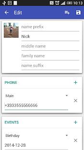 Contacts VCF 4.1.67 Screenshots 4