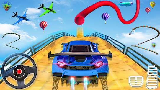 Ramp Car Stunts 3D- Mega Ramp Stunt Car Games 2021 2