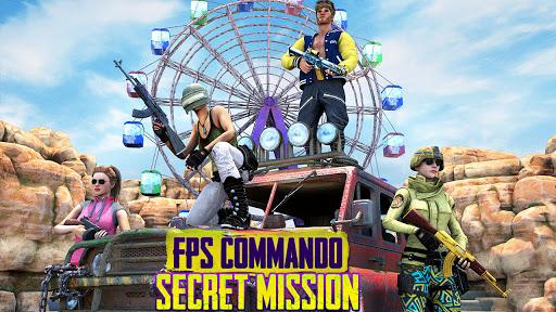 FPS Commando Secret Mission - Real Shooting Games apkpoly screenshots 11