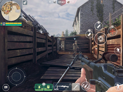 World War 2: Battle Combat (Online Spiele FPS) Screenshot