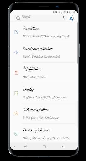 Stylish Fonts for FlipFont with Font Resizer  screenshots 2