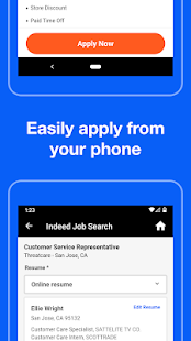 Indeed Job Search Screenshot