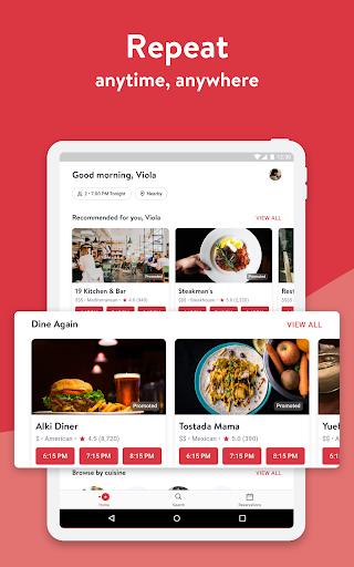 OpenTable: Restaurants Near Me 14.11.0.3617 Screenshots 9