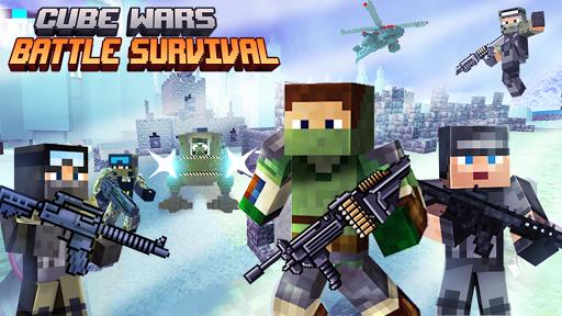 Cube Wars Battle Survival  screenshots 1