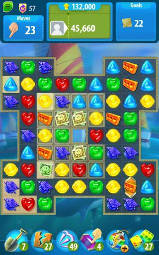 Gummy Drop! Match to restore and build cities  screenshots 14