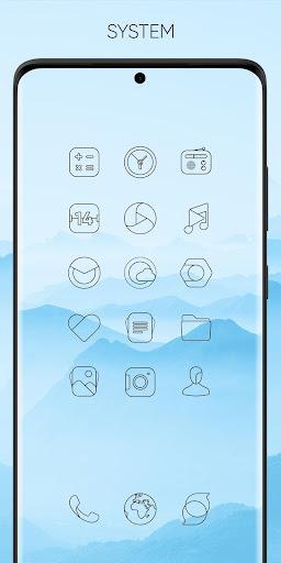 Download APK: Vera Outline Black – Black linear icons v3.8.2 [Patched]