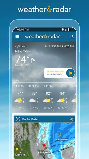 Weather & Radar - Storm radar apktram screenshots 1