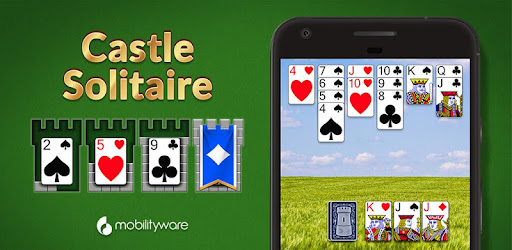 Screenshot of Castle Solitaire Card Game