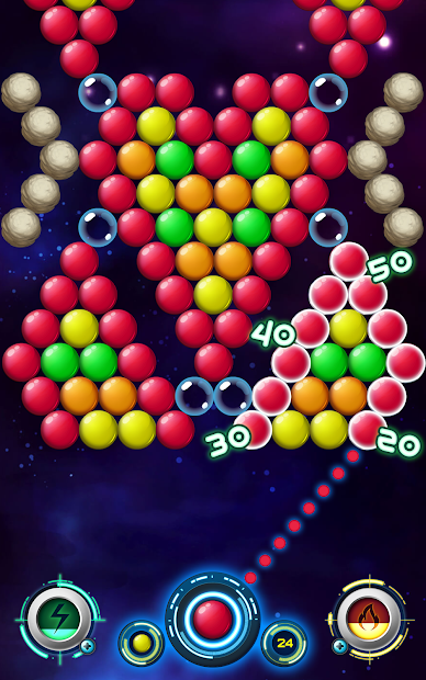 Captura 2 de Bola bang disparador de burbujas para android