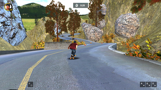 Longboard Simulator 3D - Skater Rush 1.0.0 screenshots 4