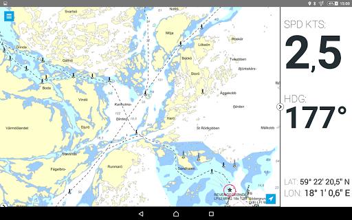 Eniro På sjön - Gratis sjökort  screenshots 9