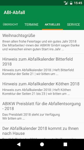 ABI-Abfall 2.1.7.0 Screenshots 3