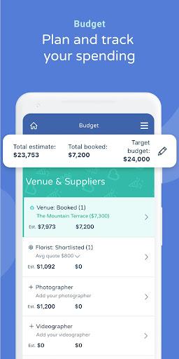 Bridebook - Wedding Planning App 1.9.66 Screenshots 5
