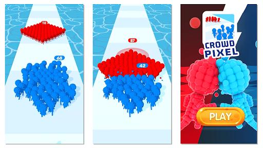Crowd Pixel:Race and Clash! 0.2.274 screenshots 2