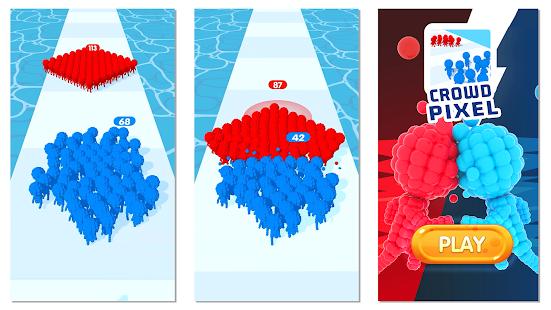 Crowd Pixel:Race and Clash! 0.2.258 screenshots 2