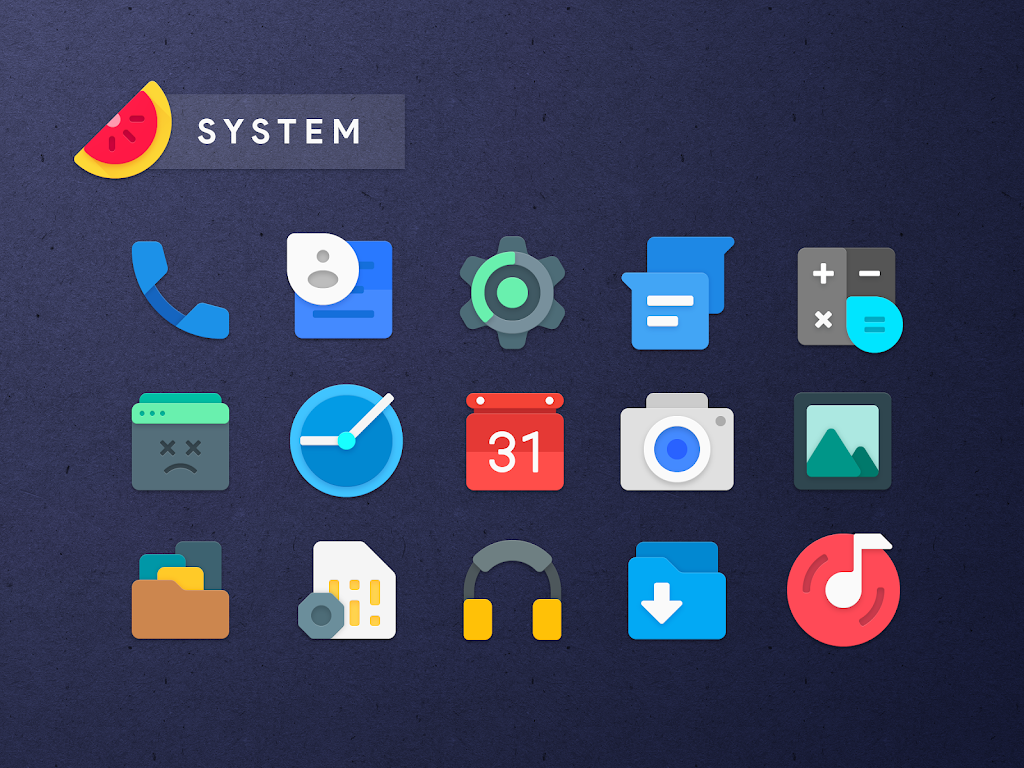 Sliced Icon Pack  poster 1