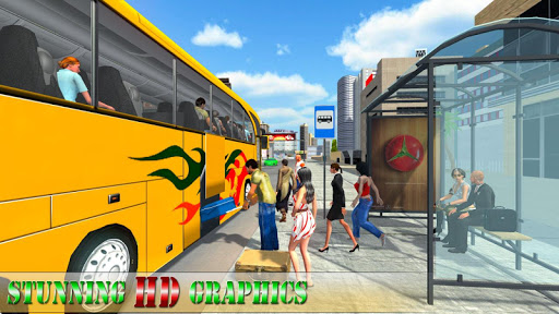 Modern Bus Drive Simulator - Bus Games 2021 android2mod screenshots 3