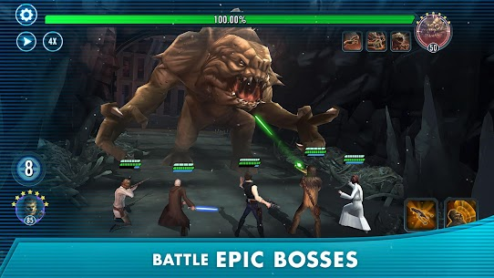 Star Wars™: Galaxy of Heroes 0.23.742101 MOD APK [HALF DAMAGE/GOD ATTACK] 4