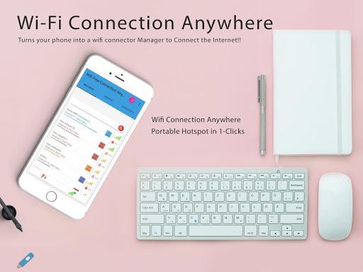Free Wifi Connection Anywhere & Portable Hotspot  screenshots 1