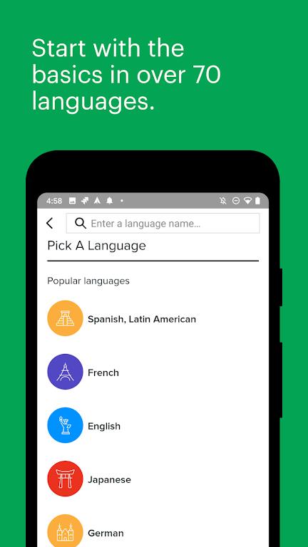 Mango Languages: Personalized Language Learning  poster 1