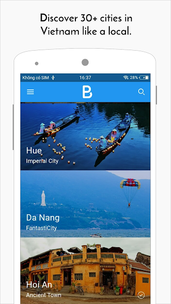Bpacking: Vietnam Travel Guide, Offline Map, Place