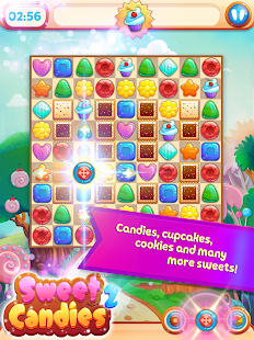Sweet Candies 2 - Chocolate Cookie Candy Match 3
