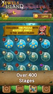 Jewels Island : Match 3 Puzzle