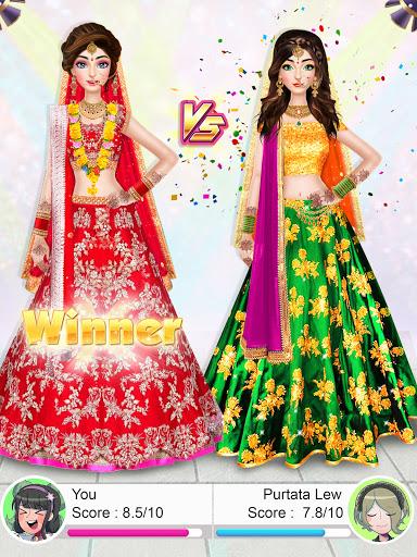 Indian Wedding Stylist - Makeup &  Dress up Games 0.17 screenshots 17